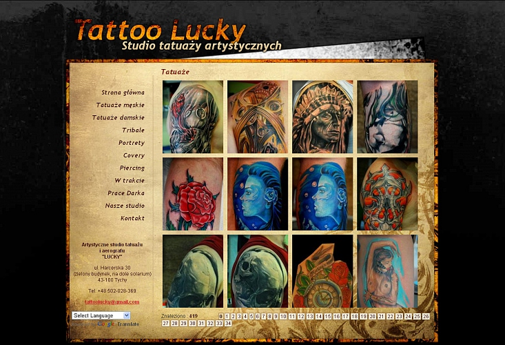 Tattoo Lucky